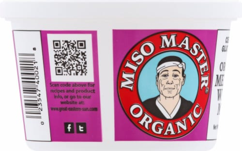 Miso Master Organic Mellow White Miso Perspective: left