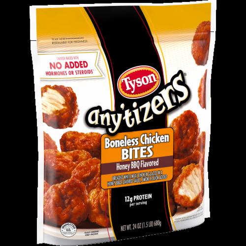 Tyson Any'tizers Honey BBQ Boneless Chicken Bites Perspective: left