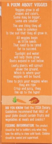 Earth's Best Sesame Street Sunny Days Sweet Potato & Carrot Snack Bars 8 Count Perspective: left