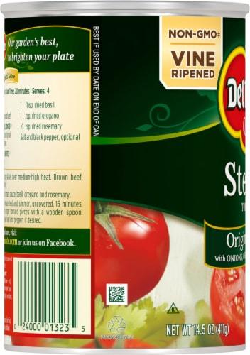 Del Monte® Original Recipe Stewed Tomatoes Perspective: left