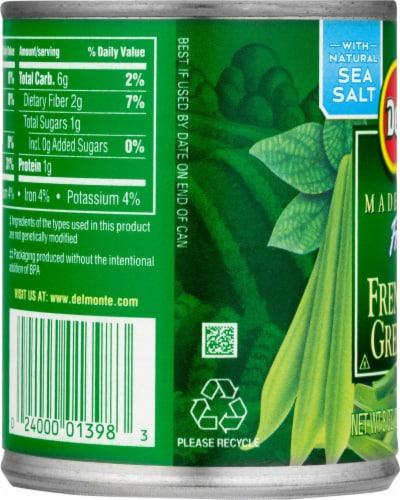 Del Monte Fresh Cut French Style Green Beans Perspective: left