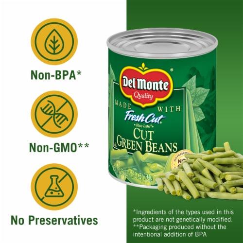 Del Monte® Fresh Cut® Green Beans Perspective: left