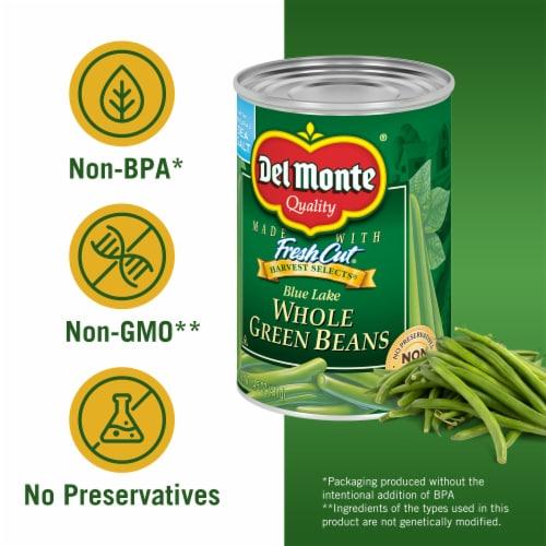 Del Monte Fresh Cut Whole Green Beans Perspective: left