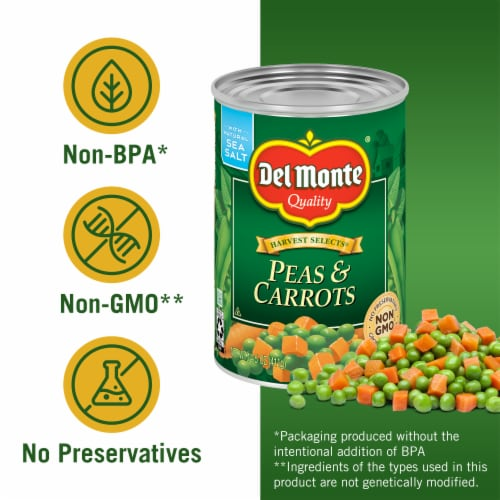 Del Monte® Harvest Selects Peas & Carrots Perspective: left