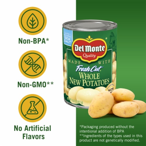 Del Monte Fresh Cut Whole New Potatoes Perspective: left