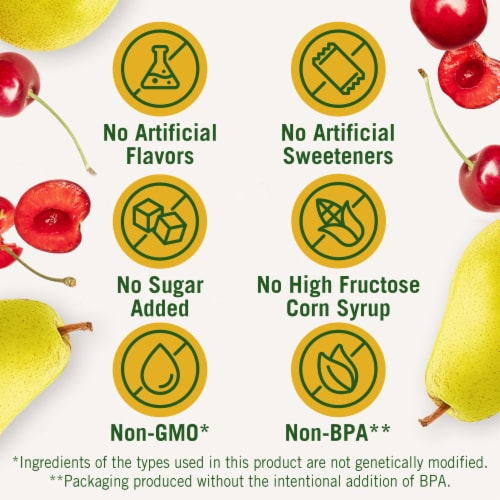 Del Monte Cherry Mixed Fruit Cups Perspective: left