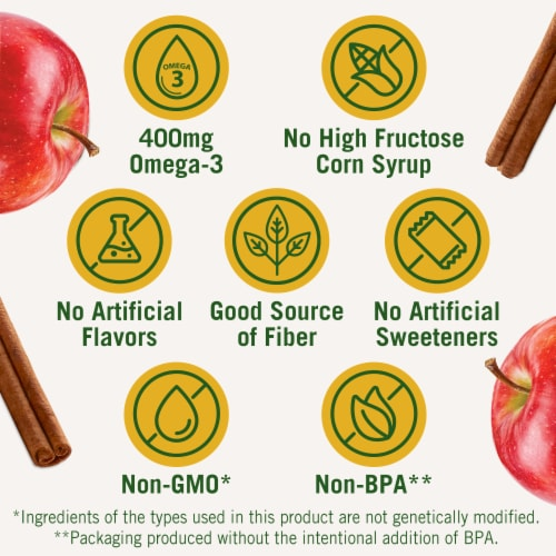 Del Monte Fruit & Oats Peach Cinnamon Spice Cups 2 Count Perspective: left