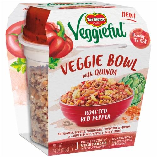 Del Monte Veggieful Roasted Red Pepper Veggie Bowl Perspective: left
