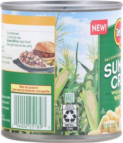 Del Monte® Summer Crisp Whole Kernel Sweet White Corn Perspective: left