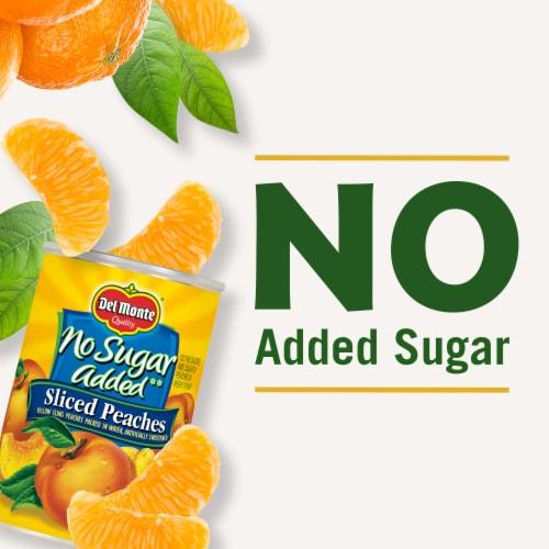 Del Monte No Sugar Added Mandarin Oranges Perspective: left