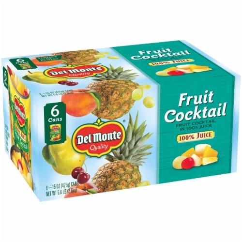 Del Monte Fruit Cocktail in 100% Juice Perspective: left