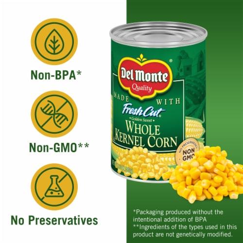 Del Monte Fresh Cut Whole Kernel Corn Value Pack Perspective: left