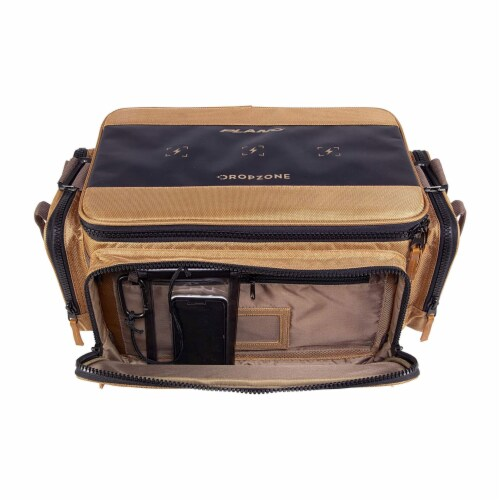 Plano Guide Series 3700 Tackle Bag and Utility Storage Case with Magnetic Top Perspective: left