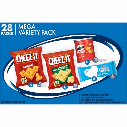Cheez-It Snack Mega Variety Pack Perspective: left