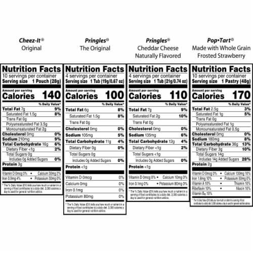 Kellogg's All Day Snacks Variety Pack Perspective: left