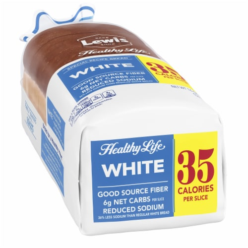 Healthy Life Low Calorie White Bread Perspective: left