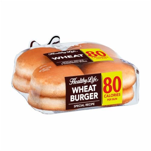 Healthy Life Lewis Bake Shop Wheat Sandwich Buns 8 Count Perspective: left