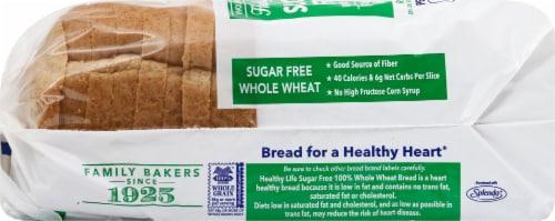 Healthy Life Sugar Free 100% Whole Grain Wheat Bread Perspective: left