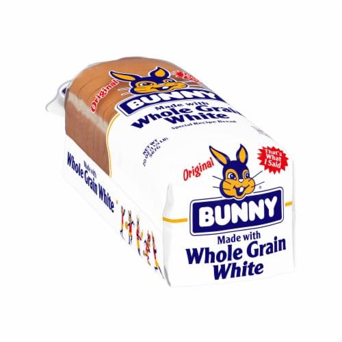 Bunny Whole Grain White Bread Perspective: left