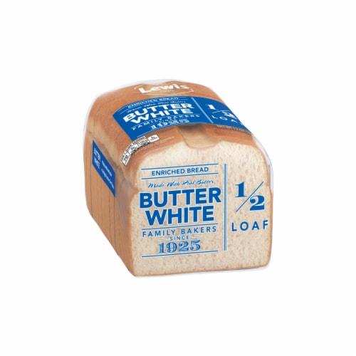 Lewis Bake Shop Half Loaf Butter White Bread Perspective: left