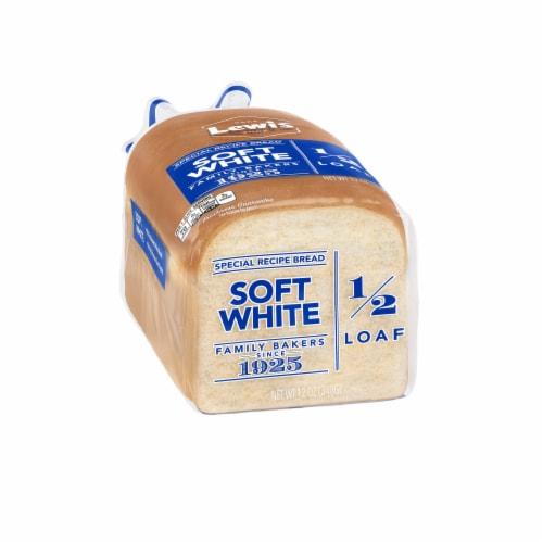 Lewis Bake Shop Half Loaf Soft White Bread Perspective: left