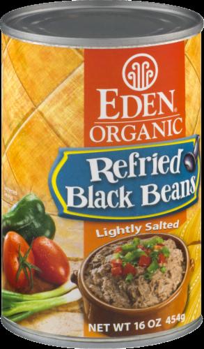Eden Organic Refried Black Beans Perspective: left