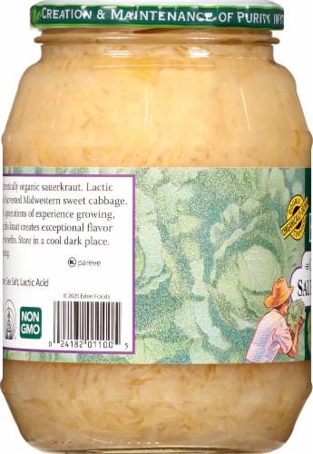 Eden Foods Organic Sauerkraut Perspective: left