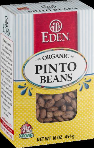 Eden Organic Pinto Beans Perspective: left