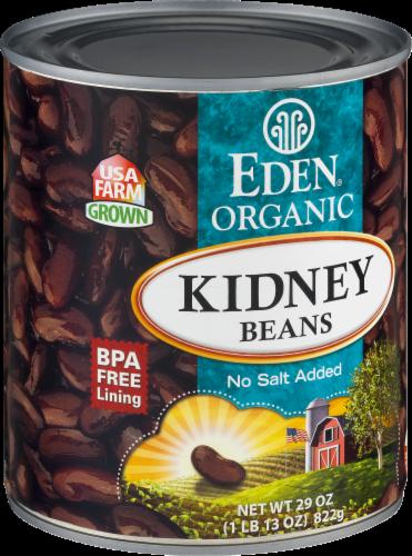 Eden Organic Kidney Beans Perspective: left
