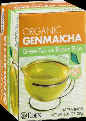 Eden Organic Genmaicha Green Tea Bags Perspective: left