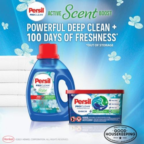 Persil ProClean Active Scent Boost Laundry Detergent Discs Perspective: left