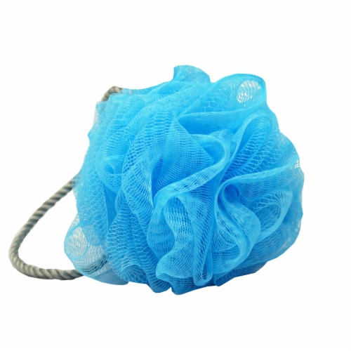 Handy Solutions Exfoliating Bath Puff Perspective: left