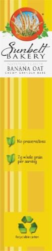Sunbelt Bakery Natural Banana Oat Chewy Granola Bars Perspective: left