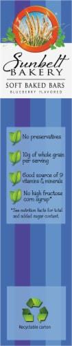 Sunbelt Bakery Blueberry Fruit & Grain Bars Perspective: left