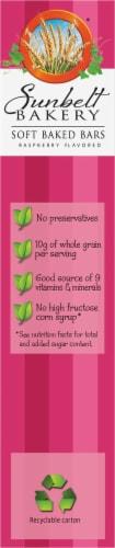 Sunbelt Bakery Raspberry Fruit & Grain Bars Perspective: left