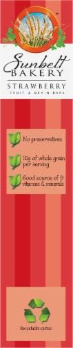 Sunbelt Bakery Strawberry Fruit & Grain Bars Perspective: left