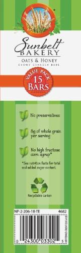 Sunbelt Bakery Oats & Honey Chewy Granola Bars Value Pack Perspective: left