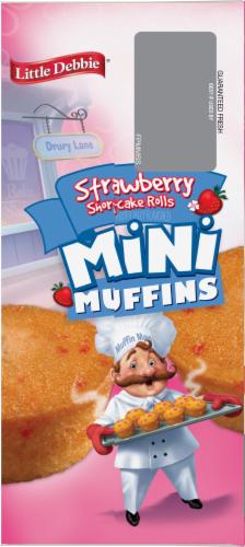 Little Debbie Strawberry Shortcake Mini Muffins Perspective: left