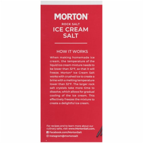 Morton Ice Cream Salt Perspective: left