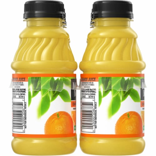 Minute Maid 100% Orange Juice Perspective: left