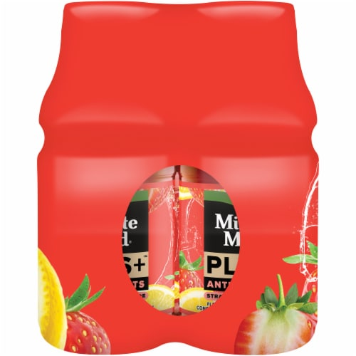 Minute Maid Plus+ Antioxidants Strawberry Lemonade Perspective: left