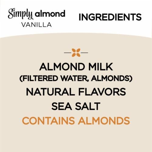 Simply Vanilla Almond Milk Perspective: left