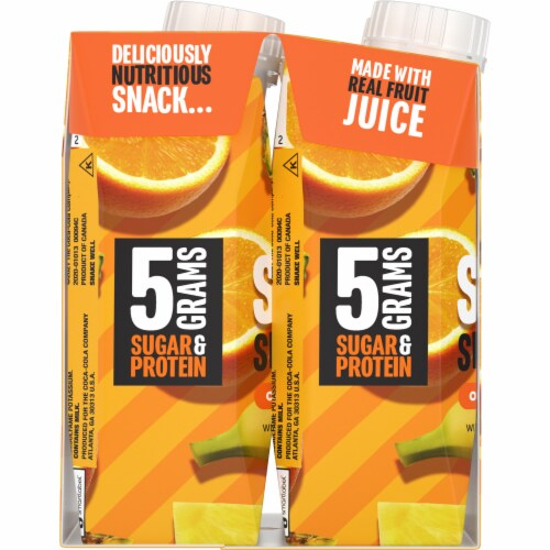 Minute Maid Super Smoothies Orange Pineapple Smoothies Perspective: left