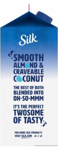 Silk Unsweetened Almond & Coconut Milk Blend Perspective: left