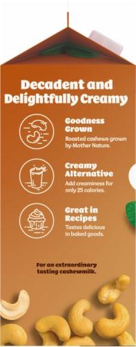 Silk Unsweetened Vanilla Cashewmilk Perspective: left