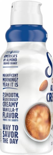 Silk Vanilla Almond Creamer Perspective: left