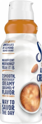 Silk Caramel Flavored Almond Creamer Perspective: left