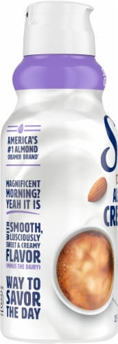 Silk Sweet & Creamy Dairy-Free Almond Creamer Perspective: left
