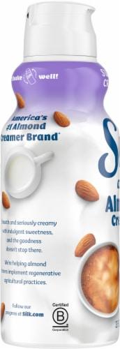 Silk Sweet & Creamy Dairy-Free Almond Creamer Perspective: left