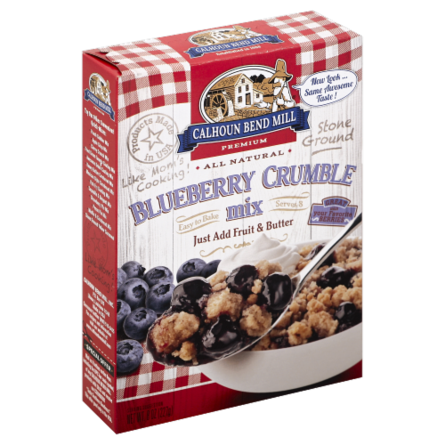 Calhoun Bend Mill Blueberry Crumble Mix Perspective: left